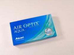 Линзы контактные, Эйр оптикс №3 Аква bc 8.6 (-3.75)
