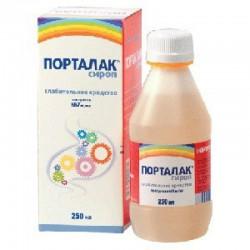 Порталак, сироп 667 мг/мл 250 мл №1