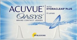 Линзы контактные, Акувью №6 Оазис bc 8.4 мм (-2.25)