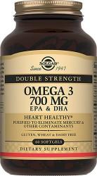 Двойная Омега 3 700 ЭПК и ДГК, капс. 1730 мг №60