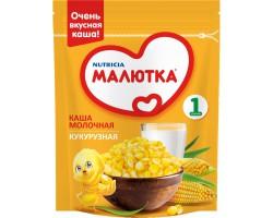 Каша молочная, Малютка 220 г кукурузная с 5 мес